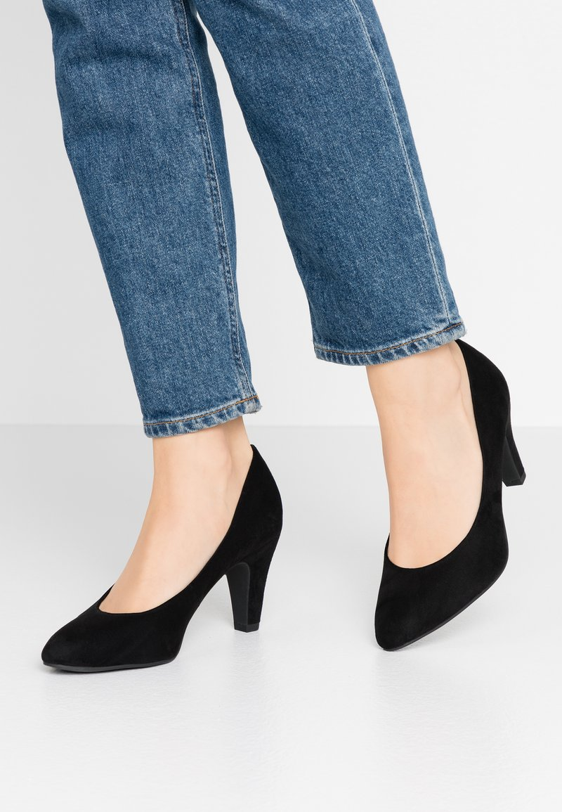 Tamaris - COURT SHOE - Classic heels - black