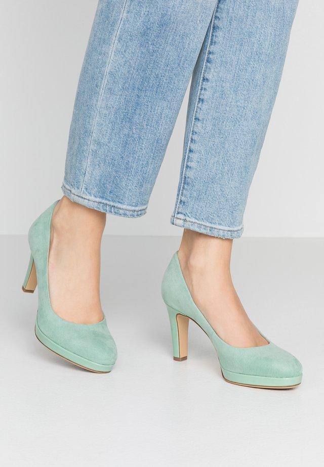 WOMS COURT SHOE - High Heel Pumps - mint