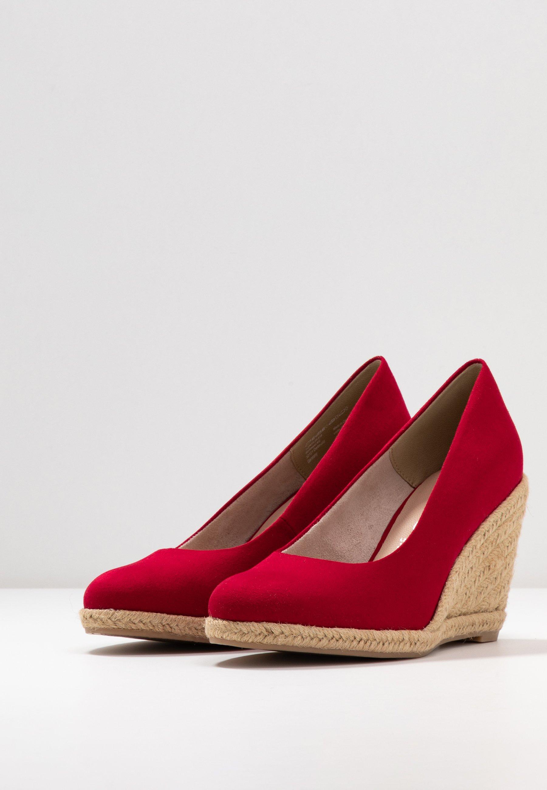 Tamaris COURT SHOE - High Heel Pumps - lipstick hVAXLd