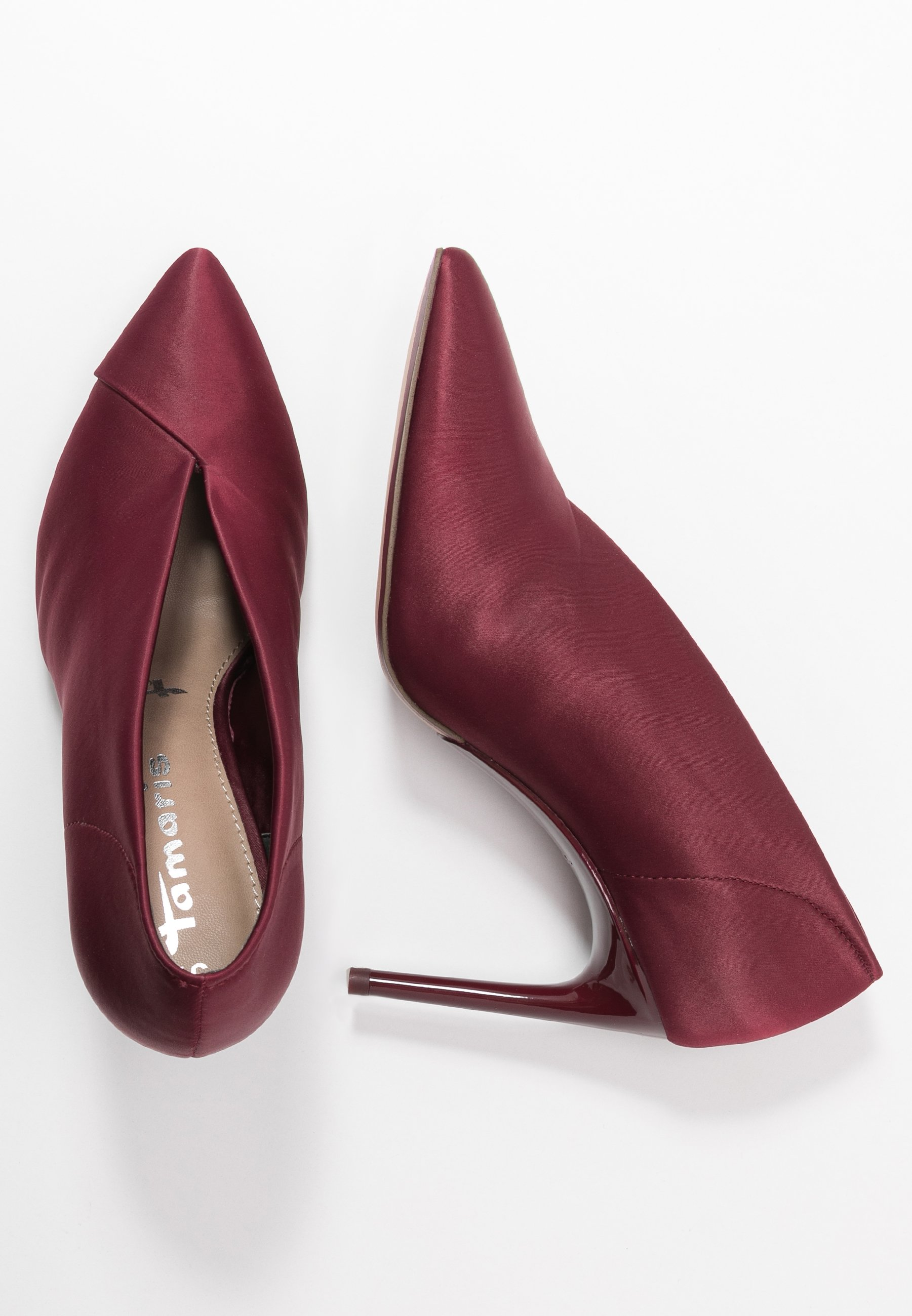 Tamaris Slip-on - Klassiska Pumps Cranberry