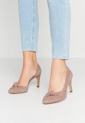 COURT SHOE - Zapatos altos - old rose