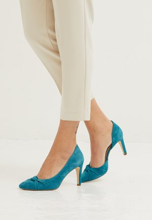 COURT X MISS GERMANY KOLLEKTION - High Heel Pumps - turquoise
