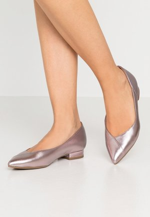 Bailarinas - rose metallic