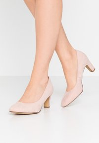 Tamaris - COURT SHOE - Escarpins - rose - 0
