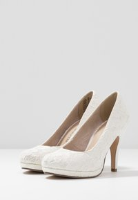Tamaris - COURT SHOE - Decolleté - champagner - 4