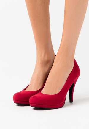 COURT SHOE - High Heel Pumps - lipstick