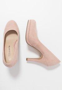 Tamaris - COURT SHOE - High heels - rose - 3