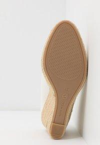 Tamaris - COURT SHOE - High heels - white - 6
