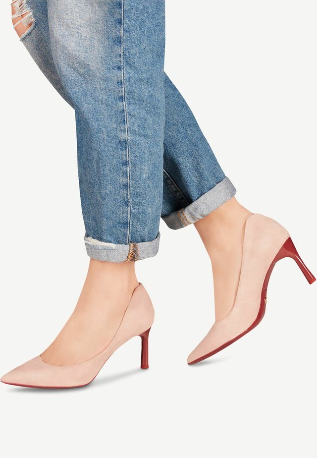 TAMARIS PUMPS - Klassieke pumps - rose/ruby