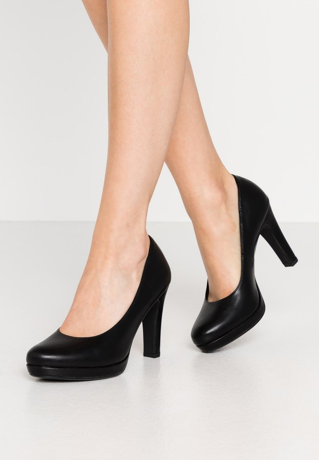 Klassiska pumps - black matt