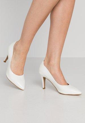 COURT SHOE - Chaussures de mariée - white