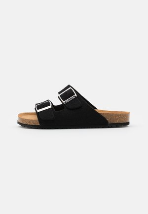 SLIDES - Chaussons - black