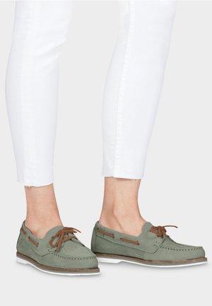 Chaussures bateau - light green