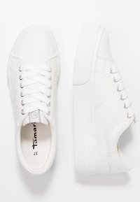 Tamaris - Sneakersy niskie - white - 3