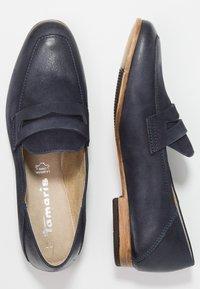 Tamaris - Nazouvací boty - navy - 3