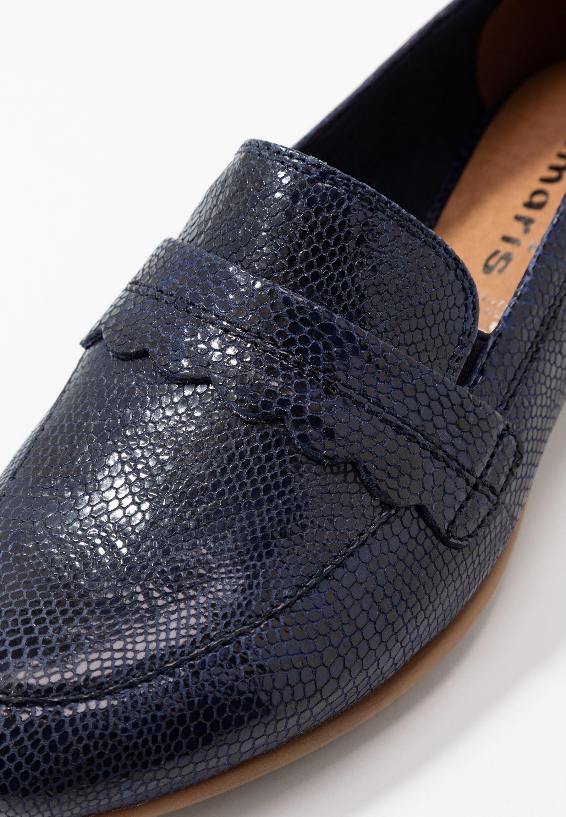 Tamaris SLIP-ON - Slippers - navy