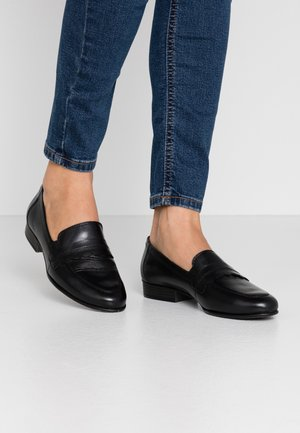 DA.-SLIPPER - Loaferit/pistokkaat - black