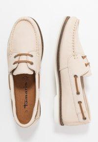 Tamaris - WOMS LACE-UP - Chaussures bateau - antelope - 3