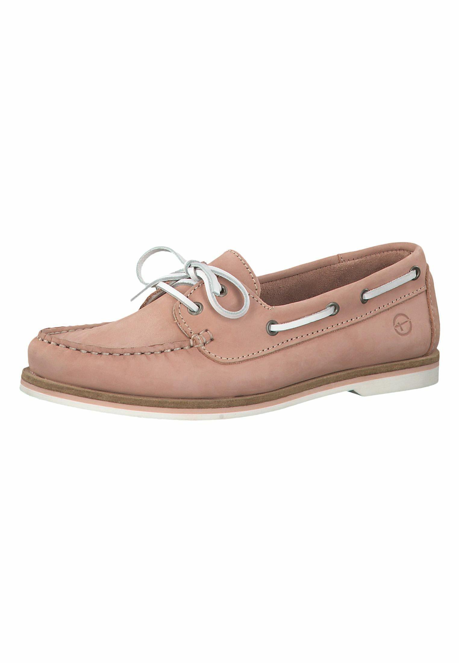 Tamaris Lace-up - Chaussures Bateau Light Pink 9PnhLNb