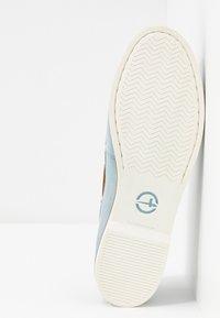 Tamaris - WOMS LACE-UP - Chaussures bateau - sky - 6
