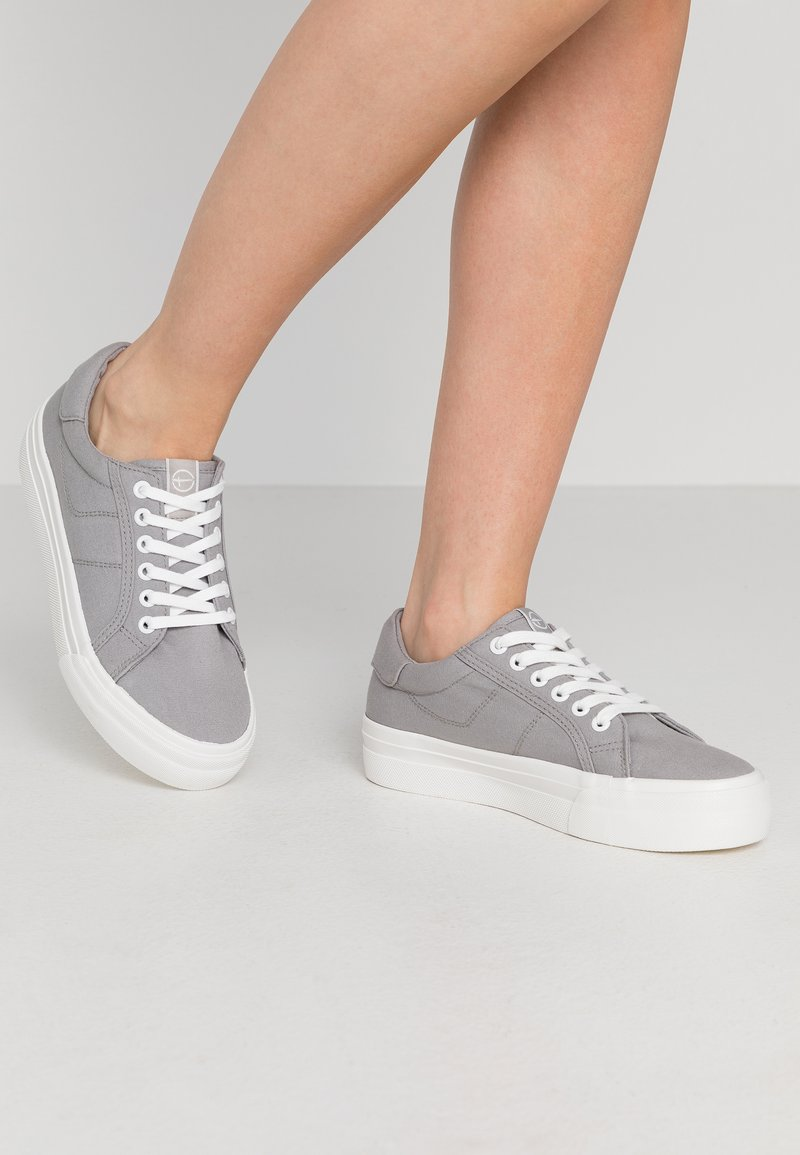 Tamaris - LACE-UP - Trainers - grey