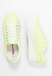 Tamaris - LACE-UP - Trainers - lime neon - 3