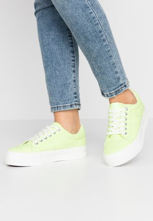 LACE-UP - Trainers - lime neon