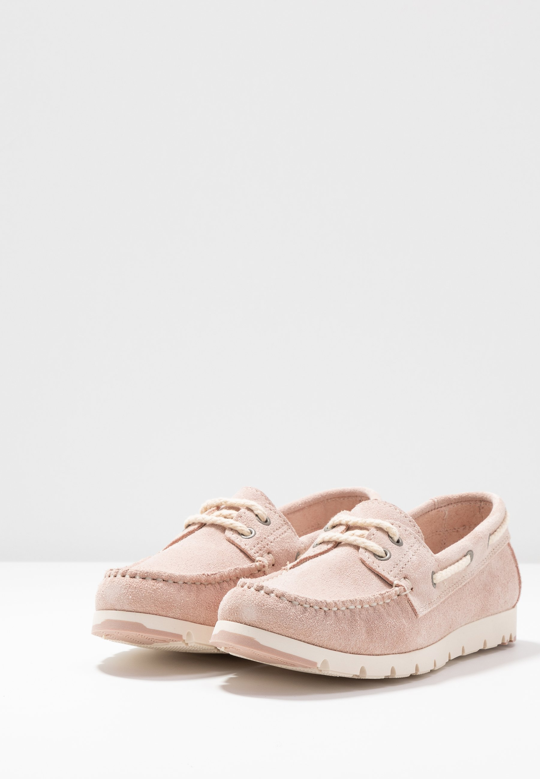 Tamaris WOMS LACE-UP - Boat shoes - rose