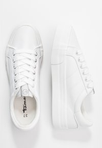 Tamaris - WOMS LACE UP - Trainers - white - 3