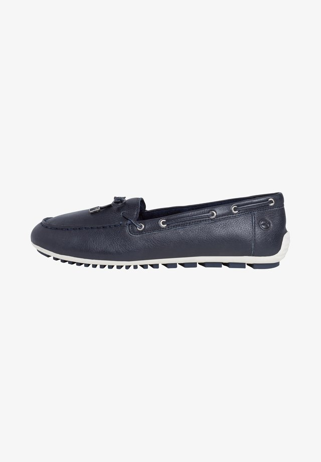 WOMS SLIP-ON - Chaussures bateau - navy