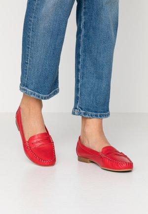 WOMS SLIP-ON - Slip-ons - red