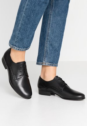 LACE-UP - Derbies - black