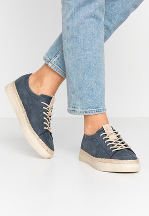 WOMS LACE-UP - Espadrilles - navy