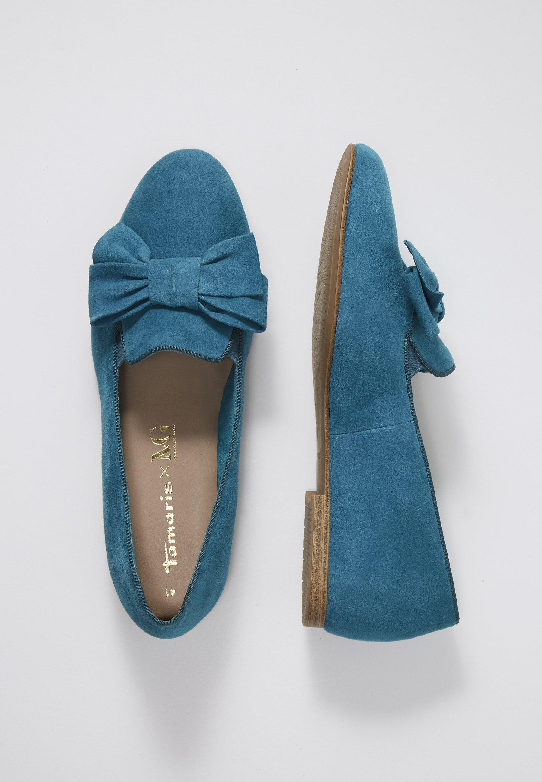 Tamaris WOMS X MISS GERMANY KOLLEKTION - Półbuty wsuwane - turquoise