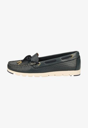 TAMARIS HALBSCHUHE - Chaussures bateau - navy