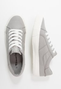 Tamaris - LACE UP - Trainers - grey - 3