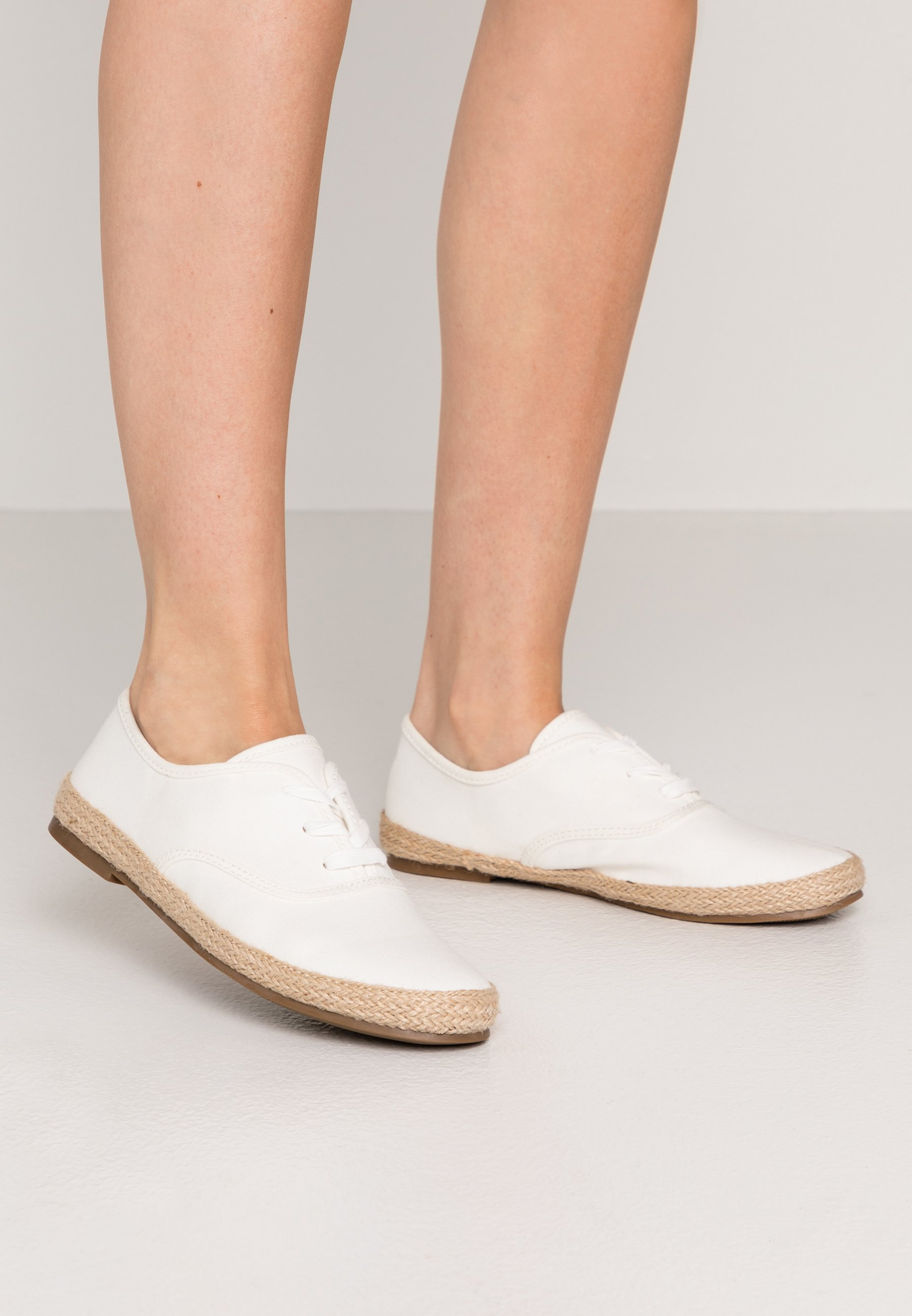 lace up espadrilles white superdry
