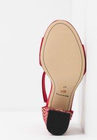 Tamaris - High heeled sandals - lipstick - 6