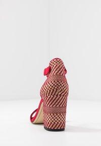 Tamaris - High heeled sandals - lipstick - 5
