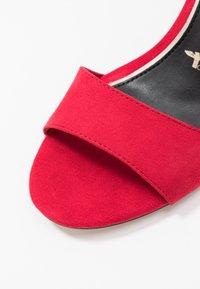 Tamaris - High heeled sandals - lipstick - 2