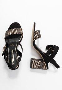 Tamaris - High Heel Sandalette - black - 3