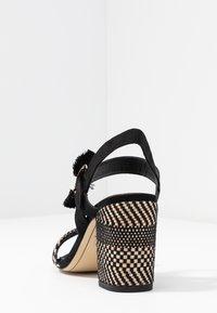 Tamaris - High Heel Sandalette - black - 5