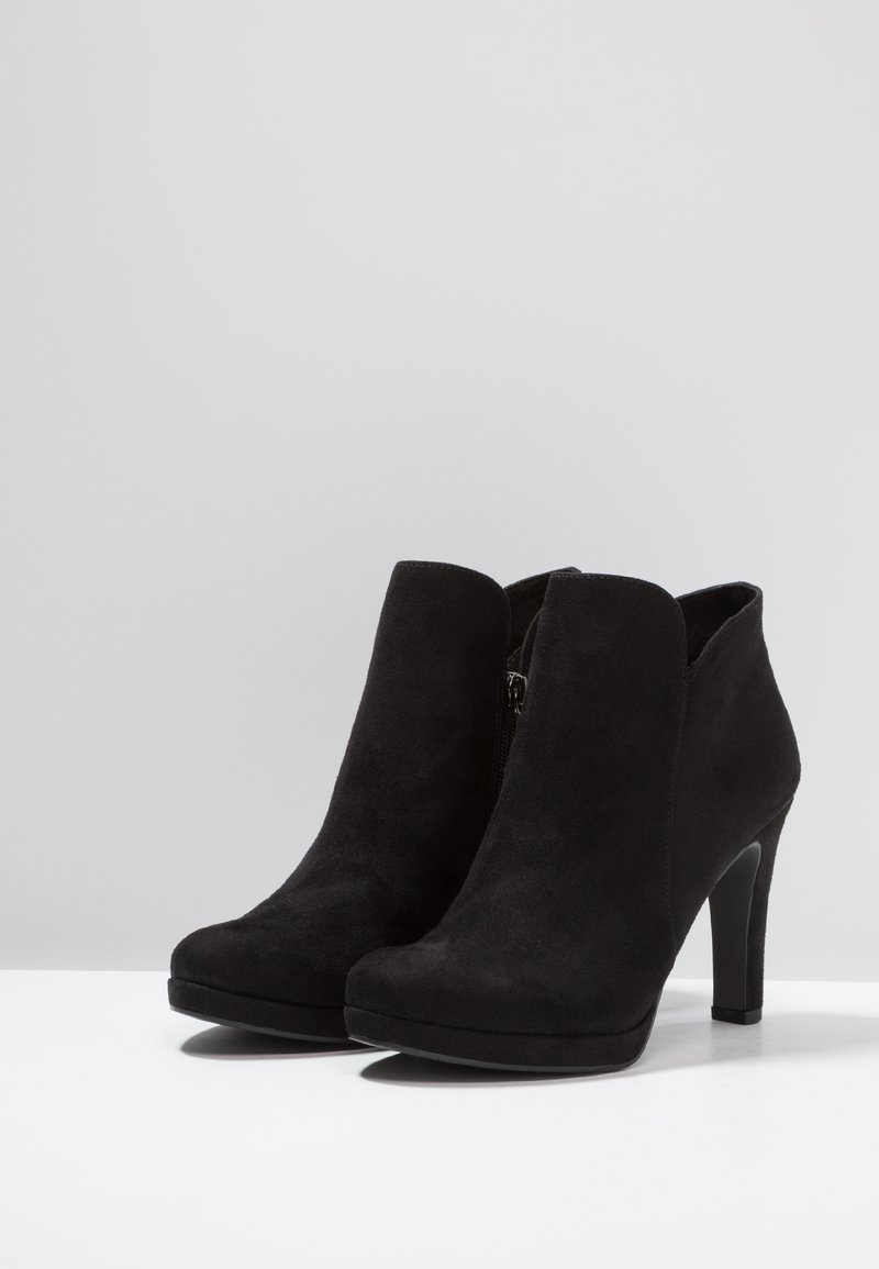 À Hauts Bottines Tamaris Talons Black rsQtdhC