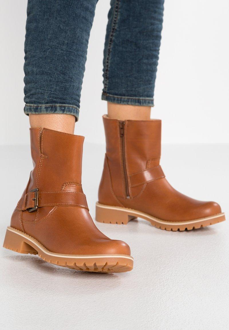 Tamaris - Classic ankle boots - cognac