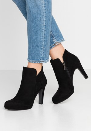 WOMS BOOTS - High heeled ankle boots - black