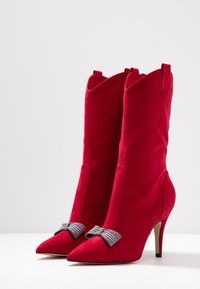 Tamaris - High heeled boots - lipstick - 4
