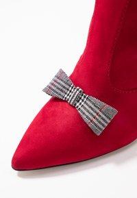 Tamaris - High heeled boots - lipstick - 2