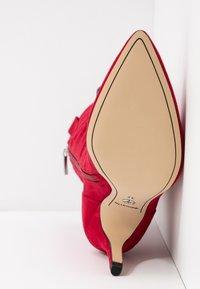 Tamaris - High heeled boots - lipstick - 6