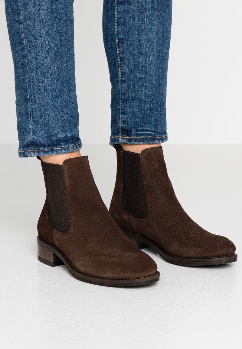 Tamaris - Classic ankle boots - mocca