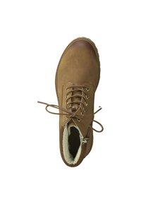 Tamaris - Šněrovací kotníkové boty - brown - 1